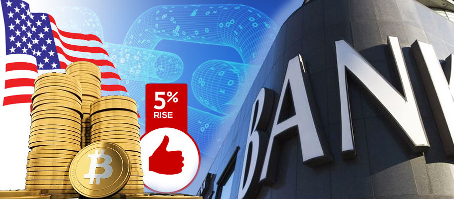 Bitcoin Surges 5% After U.S. Regulator Okays Banks to Provide Crypto Custody