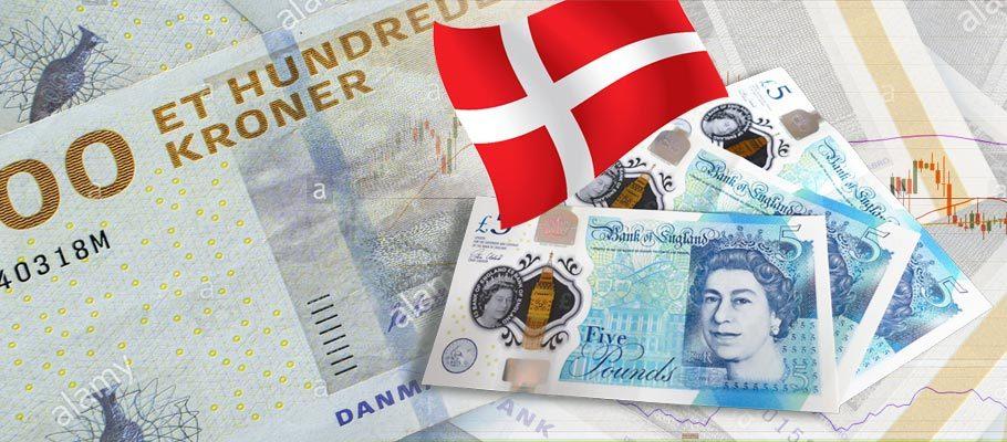 Krone Up Against GBP on Mounting Hopes for Denmark's Economy