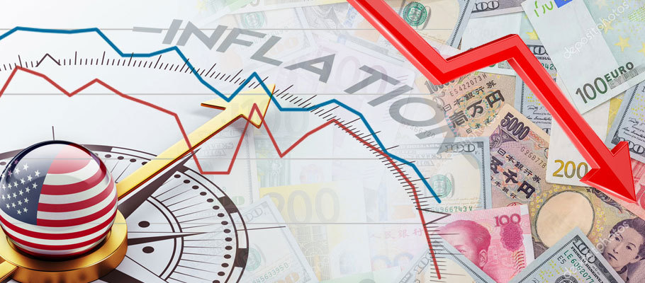 U.S. Inflation Data Push Major Currencies Down