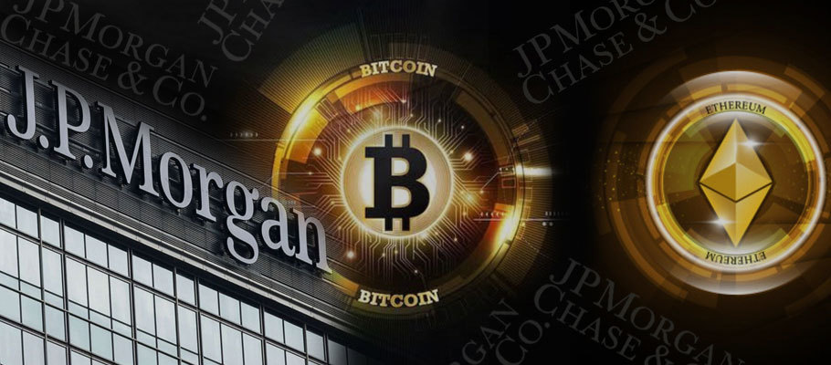 JP Morgan Opens Up Access to Ethereum and Bitcoin Funds