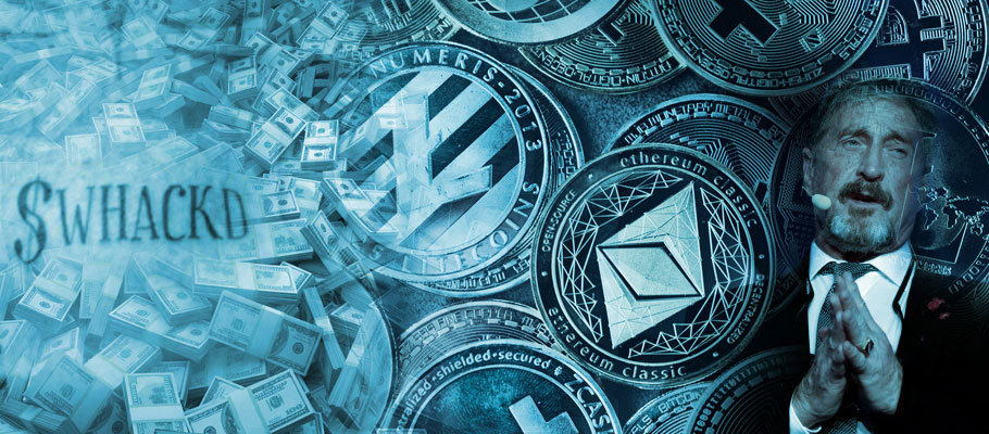 What's Happening with John McAfee's ERC20 Token WHACKD?