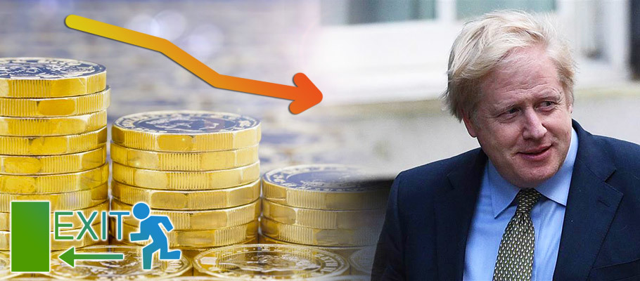 Pound Loses Last Week's Gains Following Boris Johnson's Exit Gamble