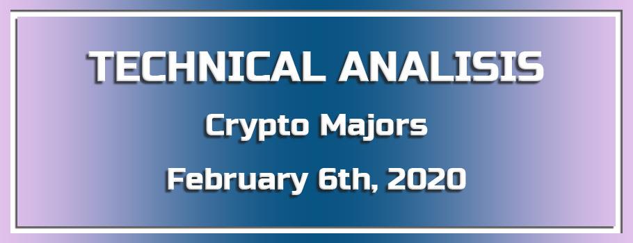Technical Analysis of Crypto Majors – February 5th, 2020