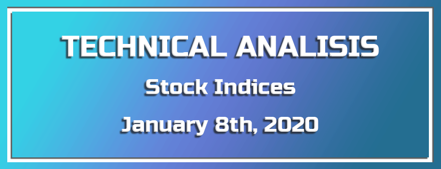 Technical Analysis of Stock Indices – January 8th, 2020