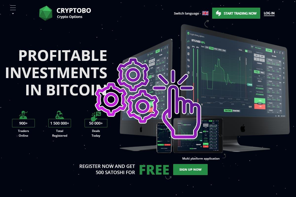 CryptoBo binary broker
