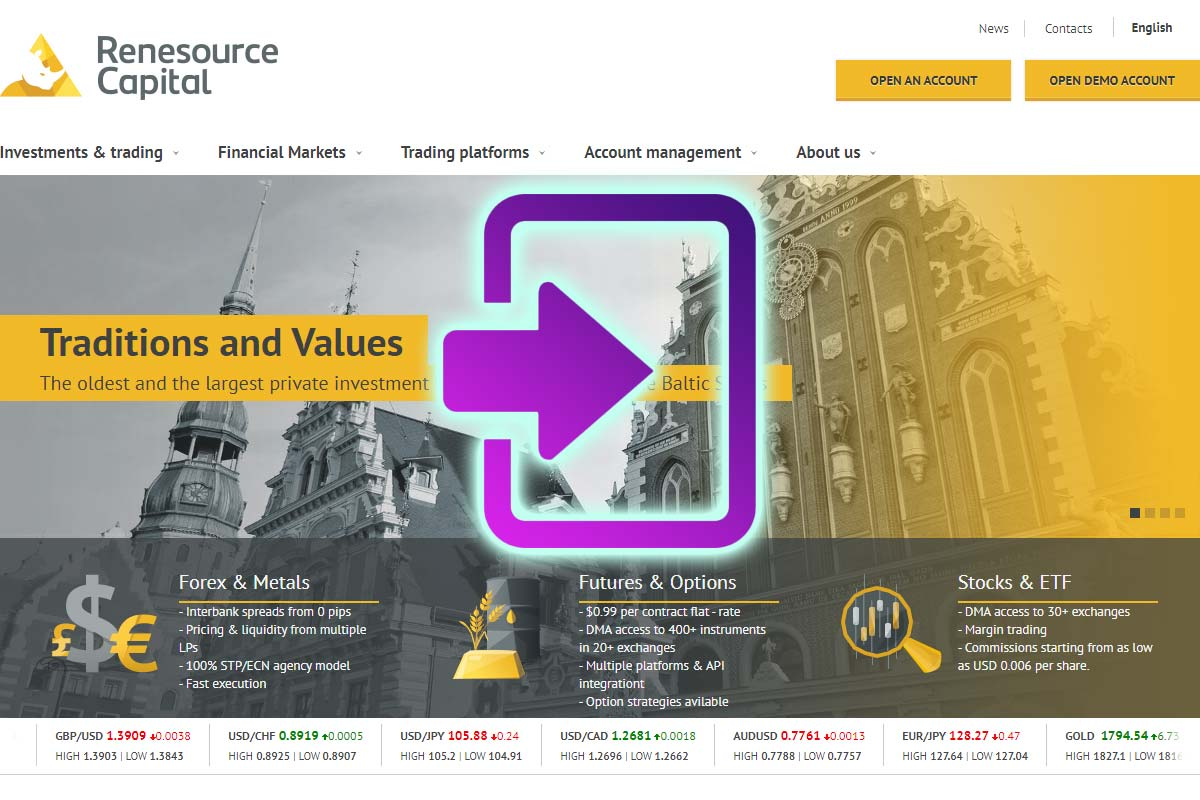 Renesource Capital scalping broker