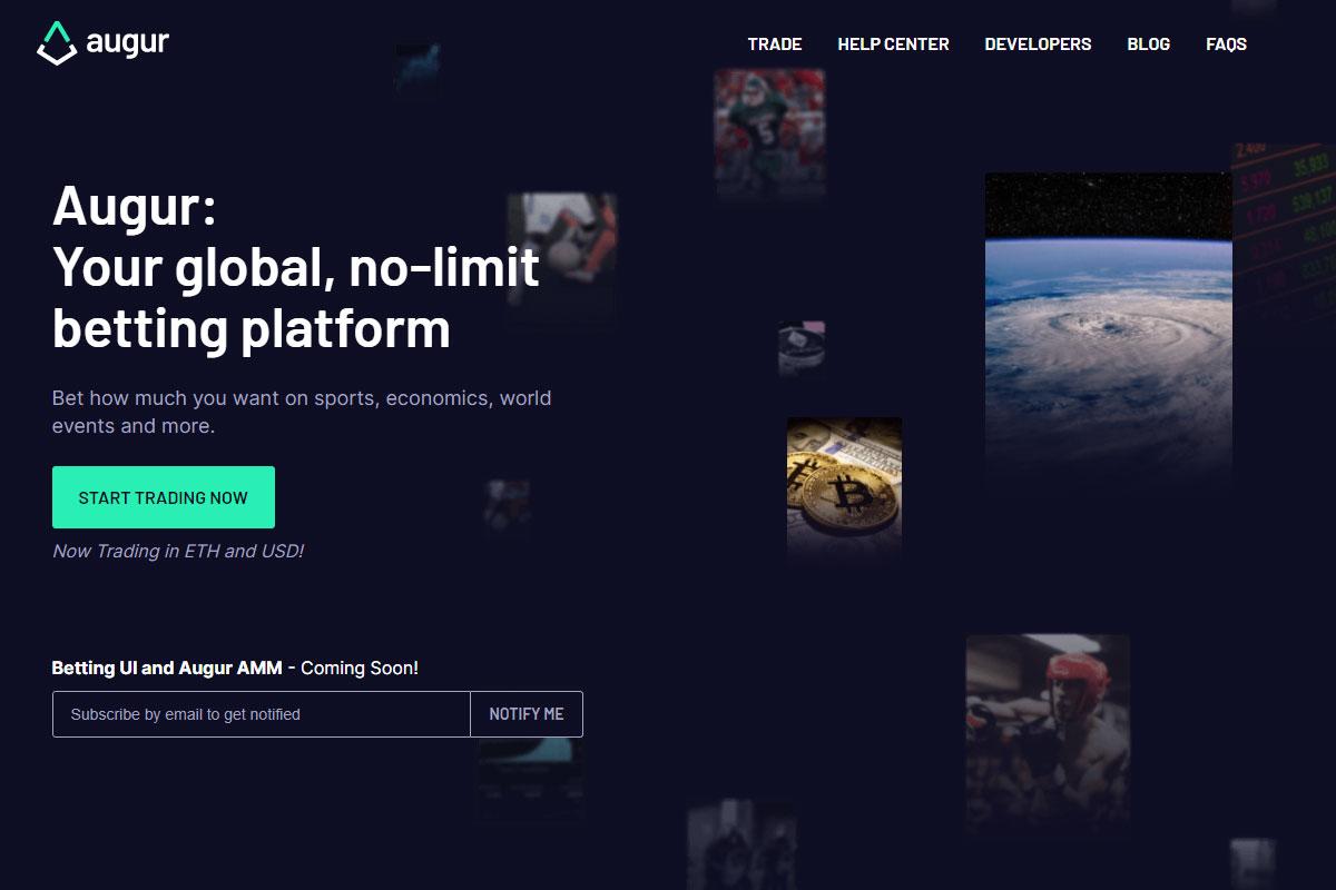 Augur crypto app