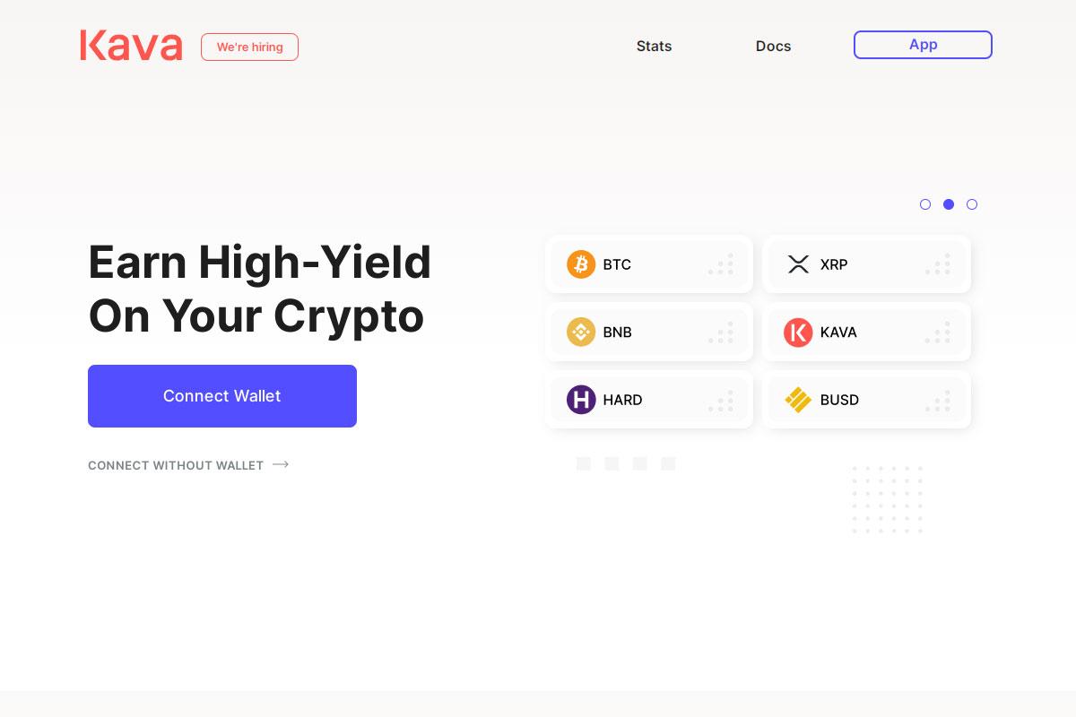 Kava crypto app