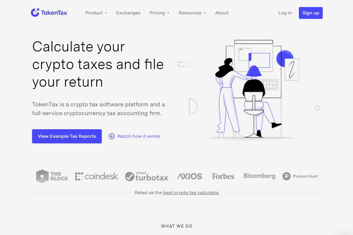 TokenTax crypto app